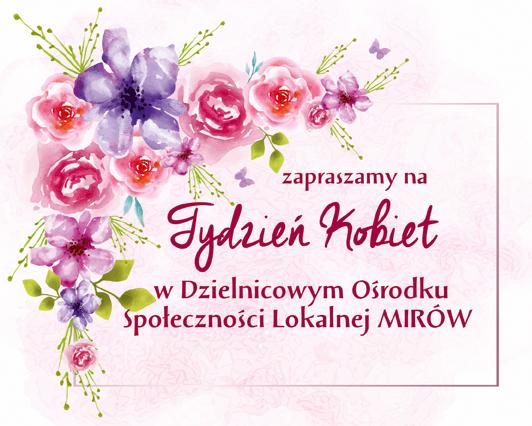Tydzień Kobiet w DOSL Mirów