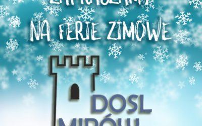 Ferie zimowe w DOSL Mirów
