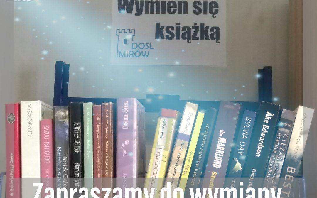 """Inauguracja akcji """"Wymień się książką"""""""