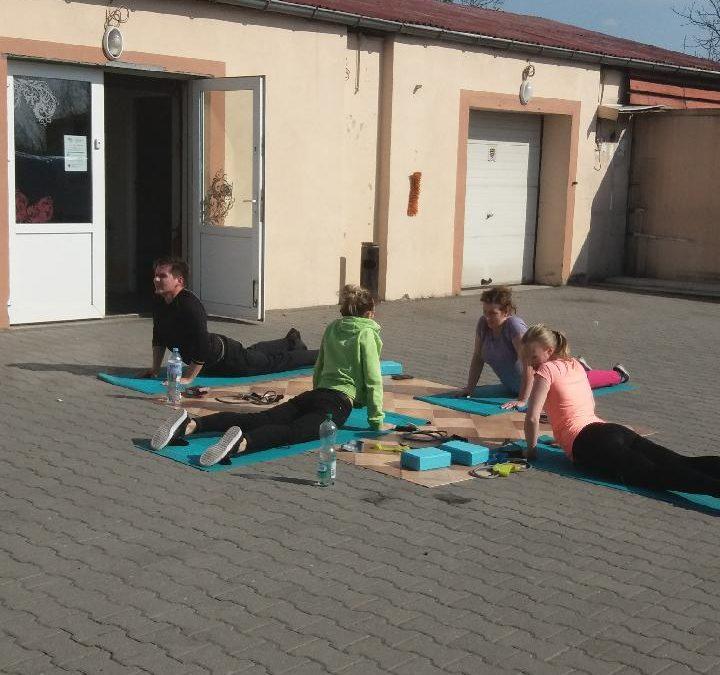 Zajęcia sportowo-rekreacyjne w DOSL Mirów