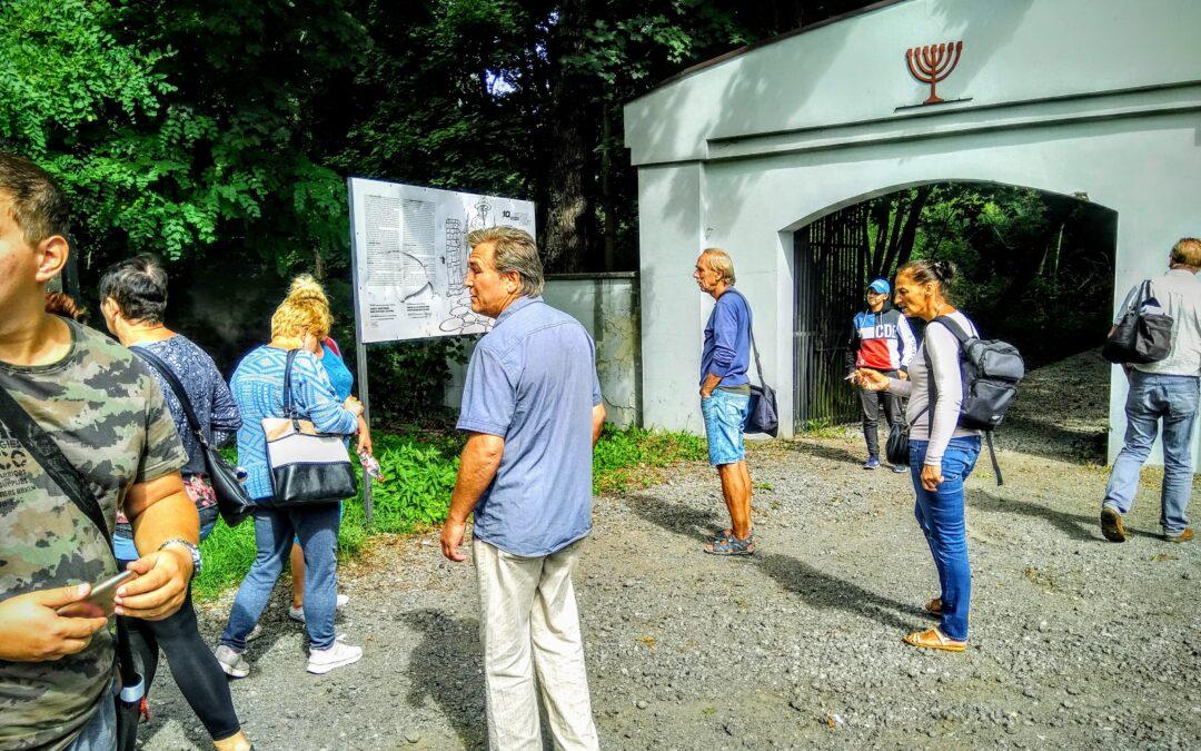 Cmentarz Żydowski wycieczka