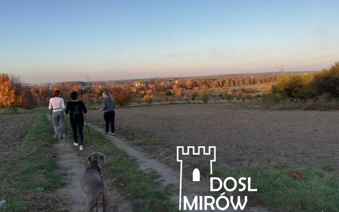 Ruszamy Mirów – Nordic walking 21.10.2019