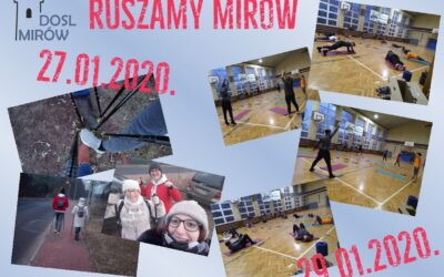 Ruszamy Mirów 27 i 29 stycznia 2020