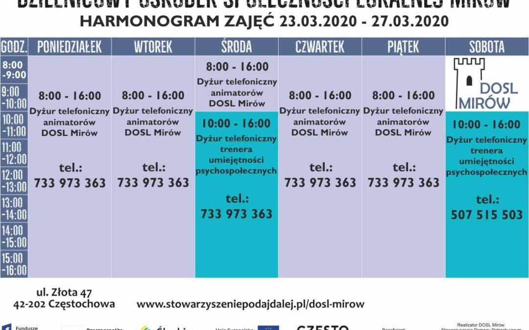harmonogram 23-28