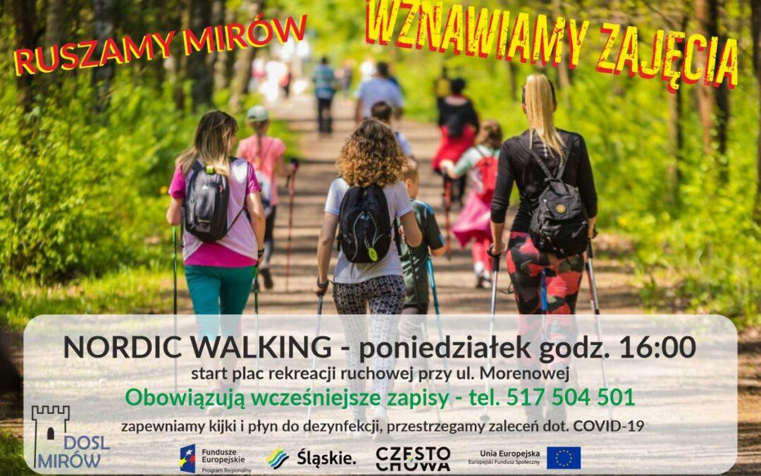 Wznawiamy zajęcia z nordic walking
