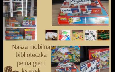 Mobilna biblioteka pełna gier i książek